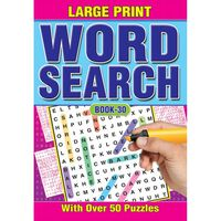 A4 Large Print Wordsearch