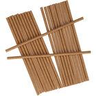 Brown Paper Straws - 25 Pack image number 1