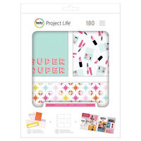American Crafts: Project Life Super Duper 180 Piece Journal Kit
