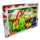 Jungle Friends 3-in-1 48 Piece Jigsaw Puzzle Set image number 1