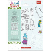Natures Garden Gnomes Stamp and Die – Gnome Child