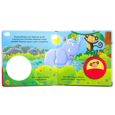 Cheeky Monkey Big Button Sound Book image number 2