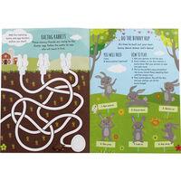 Busy Bunny Sticker Activity Book