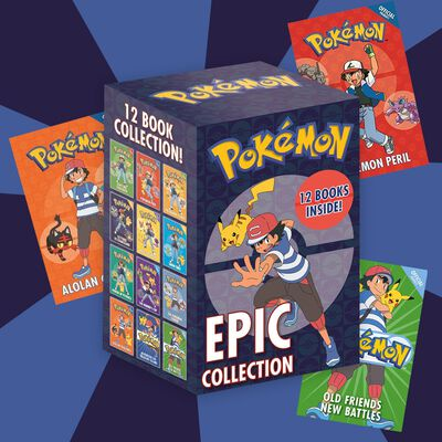 Pokemon Epic Collection: 12 Book Box Set image number 3