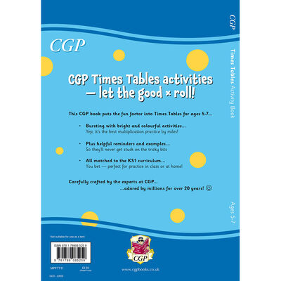Times Table Activity Book: Ages 5-7 image number 3