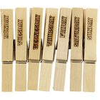 Days of the Week Wooden Pegs - 7 Pack image number 2
