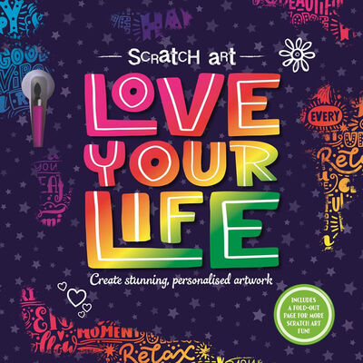 Scratch Art: Love Your Life image number 1