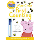 Peppa Pig: First Counting Wipe-Clean Book image number 1