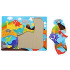 Dinosaur 6 Piece Jumbo Jigsaw Puzzle image number 2
