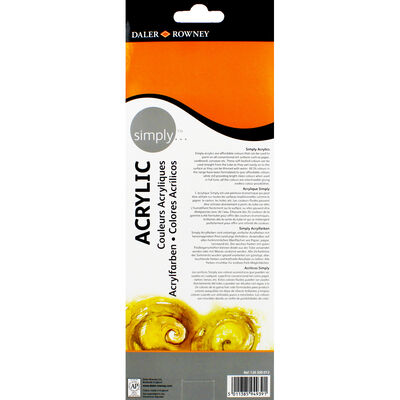 Simply Acrylic Paint Set - Pack of 12 image number 3