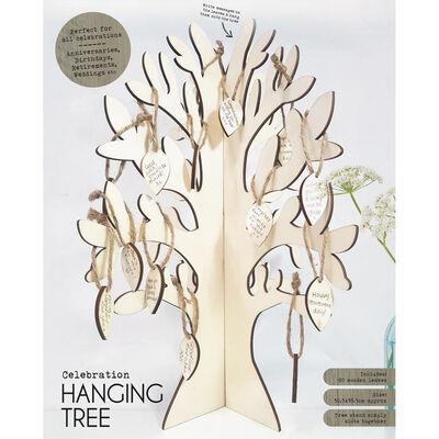 Celebration Wooden Hanging Tree image number 1