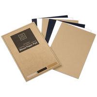 A4 Mixed Paper Pad: 36 Sheets