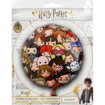 18 Inch Harry Potter Multi Face Foil Helium Balloon image number 1