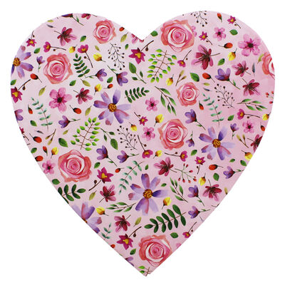 Floral Heart Shaped Storage Box - 2 Pack image number 4