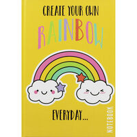 A5 Casebound Create Your Rainbow Lined Notebook