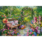 Kim's Garden 500 Piece Jigsaw Puzzle image number 2