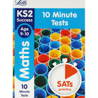 Letts KS2 Success Maths 10 Minute Tests: Ages 9-10 image number 1