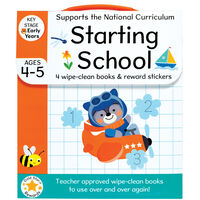 Starting School: Ages 4-5 Book Set