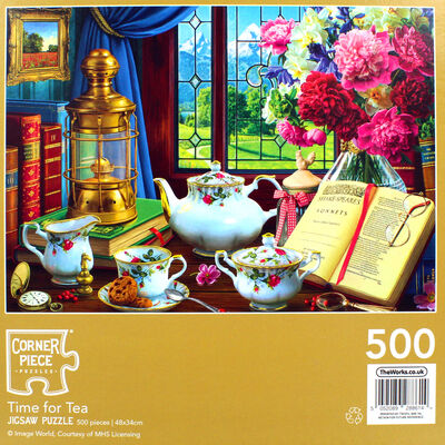 Time for Tea 500 Piece Jigsaw Puzzle image number 4