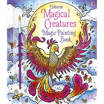Magical Creatures Magic Painting Book image number 1
