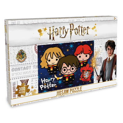 300 Piece Harry Potter Friends Jigsaw Puzzle image number 1