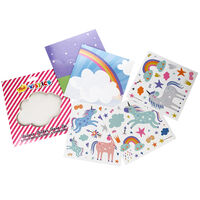 Unicorn Sticker Scene Set: Pack of 2
