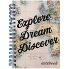 A6 Explore Dream Discover Wiro Notebook image number 1