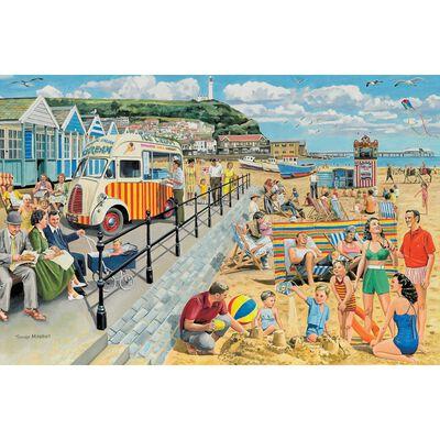 Seaside Nostalgia 1000 Piece Jigsaw Puzzle image number 2