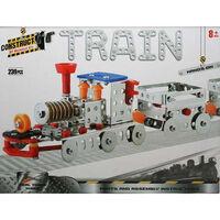 Metal Train Model Kit: 239 Pieces