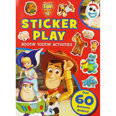 Toy Story 4: Sticker Play Rootin' Tootin' Activities image number 1
