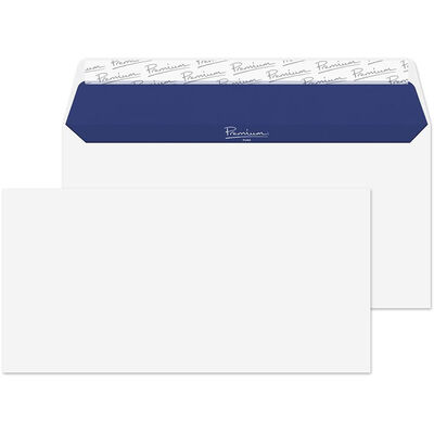 White Wove Envelope Wallets Pack of 50 image number 1