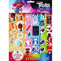 Trolls Sticker Fun