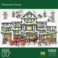 Dickensian House 1000 Piece Jigsaw Puzzle