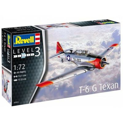 Revell 1-72 North American T-6G Texan Model Kit image number 1