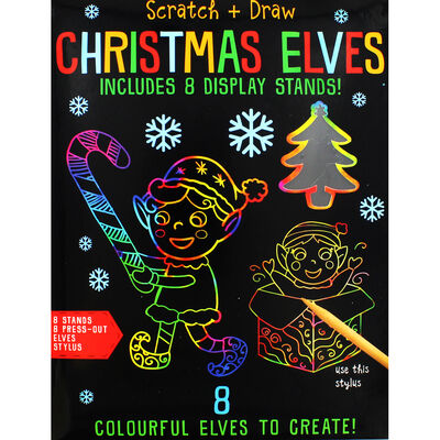 Scratch and Draw Christmas Elves image number 1