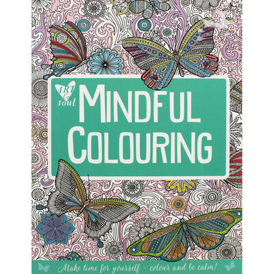 Art and Soul Mindful Colouring image number 1