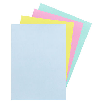 A4 Coloured Paper Pad - 75 Sheets image number 2