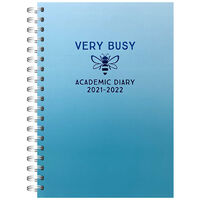 A5 Busy Bee 2021-2022 Week to View Diary