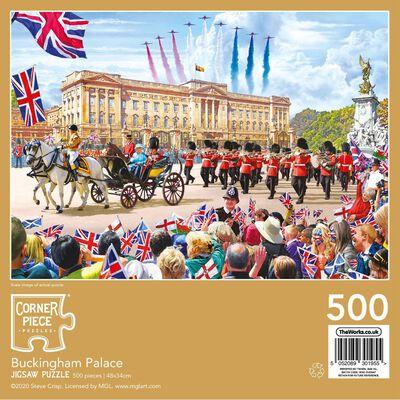 Buckingham Palace 500 Piece Jigsaw Puzzle image number 3