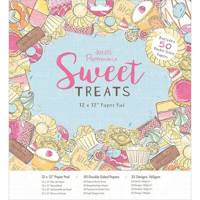 Sweet Treats Paper Pad 12x12 Inch image number 1