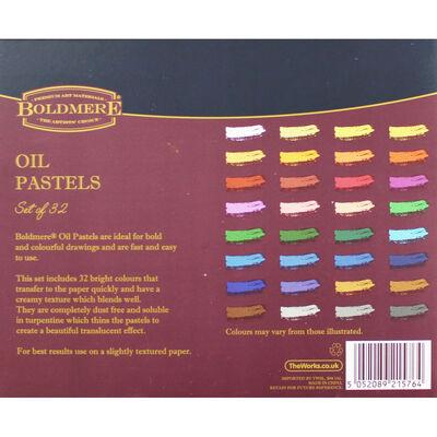 Boldmere Oil Pastels - Set of 32 image number 3