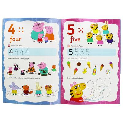 Peppa Pig: First Numbers Wipe-Clean Book image number 2