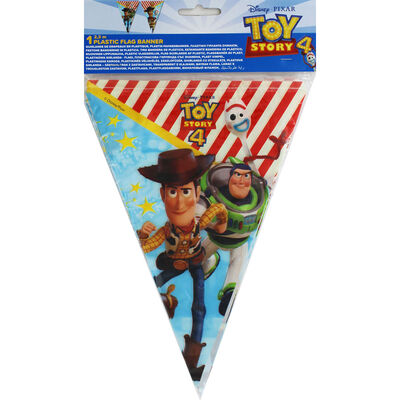 Toy Story 4 Plastic Flag Banner image number 1