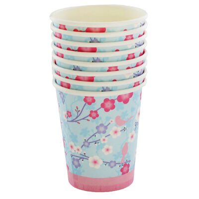 8 Blossom Party Cups image number 1