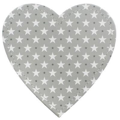 Grey Stars Heart Shaped Storage Box - 2 Pack image number 4