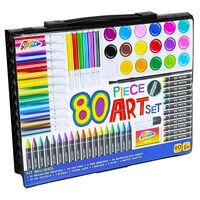 Grafix 80 Piece Children's Art Set