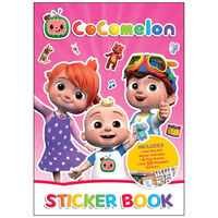 Cocomelon Sticker Activity Book