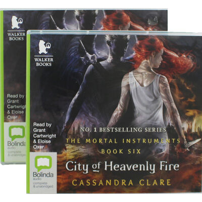 City of Heavenly Fire: 2 Case CD Set image number 1