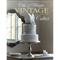 Chic and Unique Vintage Cakes