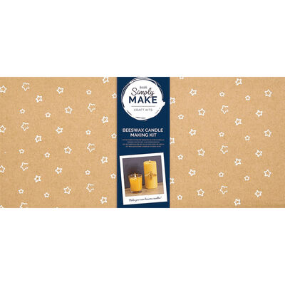 Simply Make - Beeswax Candle Making Kit image number 1